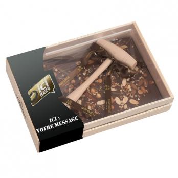 tablette de chocolat xxl personnalis e. Black Bedroom Furniture Sets. Home Design Ideas