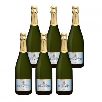 Caisse de champagne cuv e prestige pierre launay for Champagne delamotte prix